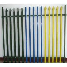 Cerca de piquete de acero / valla de palisade de seguridad