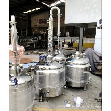 30L 50L Kupfer Alkohol Destillationsgeräte Moonshine Distiller Distillery