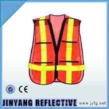 segurança de malha de alta visibilidade de 5cm fita colete / vestuário