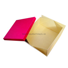 Custom Wholesale Gift Box Collapsible Top and Bottom Box