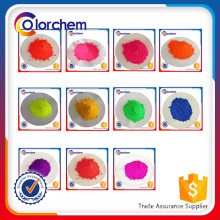 Fluorescent Pigment powder for Ink, powder coating, plastic coloring