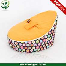 Soft baby bean bag chair sleeping baby bean bag bed