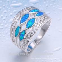 traje al por mayor de joyería a granel comprar de china diseño hecho a mano anillo de ópalo de fuego