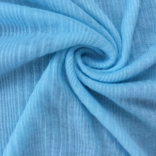 Rayon viscose fancy jacquard soft rib fabric