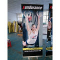 Roll Up Retractable Display Spanduk Untuk Indoor Advertising