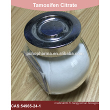 Citrate de tamoxifène de haute pureté en stock avec politique de renvoi