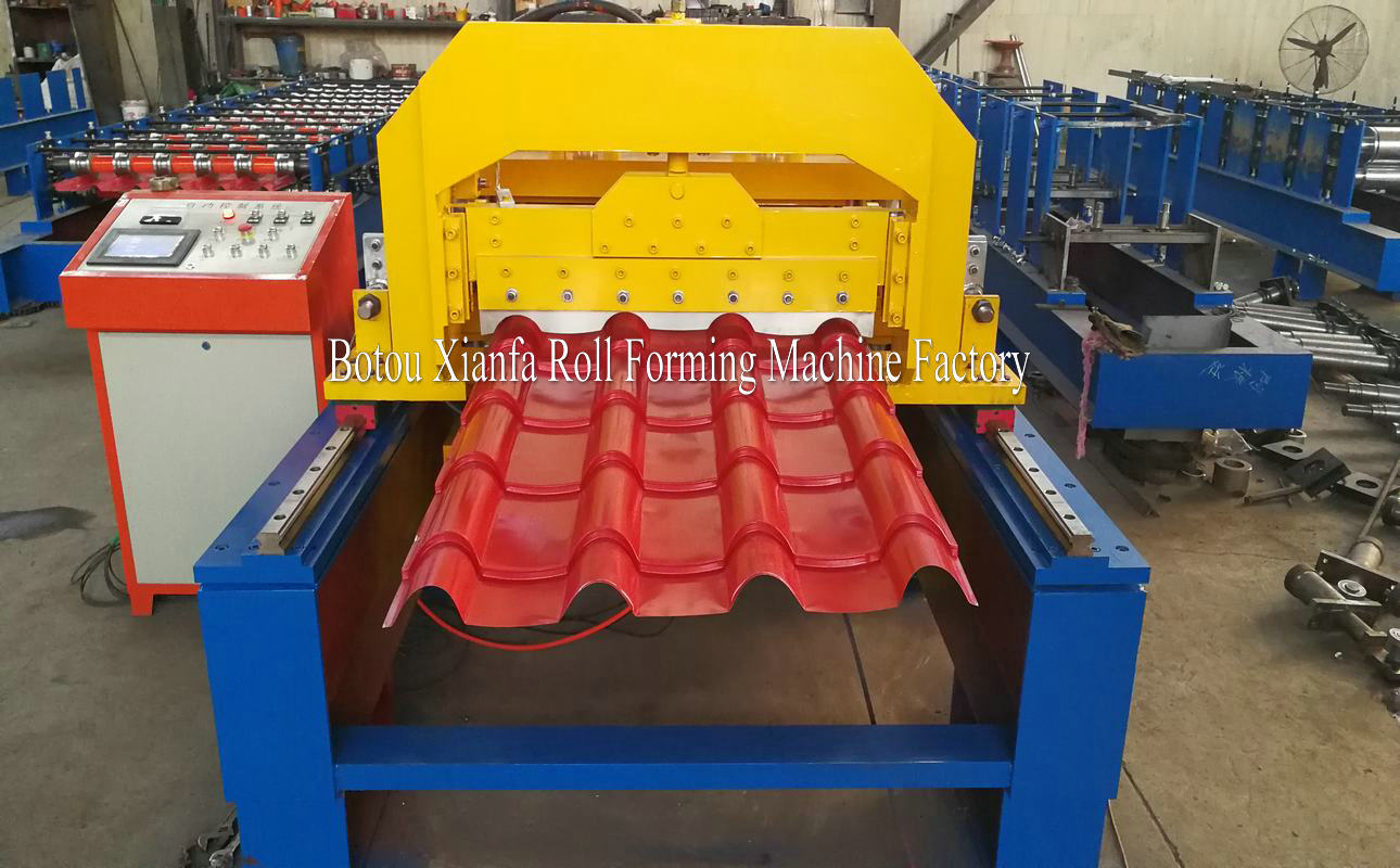 tiles roll forming machine