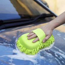 Luva de limpeza automotiva em microfibra Chenille Mitt