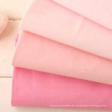 60s Plain Washed Baumwollgewebe 100% Baumwolle Tencel Look Stoff