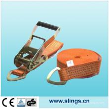Amarre de carga con correa de trinquete (SLNSJQ02)