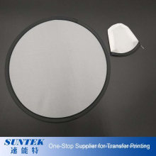 Sublimation Blank Fabric Flying Disc Frisbee
