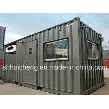 Casa móvel moderna do recipiente do baixo custo para o dormitório