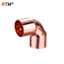 A 17 4 11 reducing elbow long radius copper elbow cooper fitting