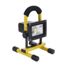 Reflector recargable de 5W LED, 300lm, 120 °, material de aluminio, fábrica de China