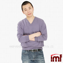 Knitted Pattern Cashmere Sweater Men Sweater
