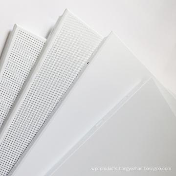 interior roof decorative false perforated aluminum ceiling tiles panel 300*300 mm