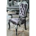 Nouveau-Classical Style bois tissu siège chaise (2705-B)