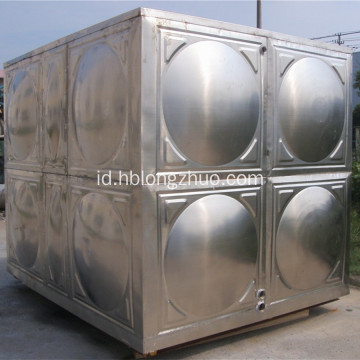 Panel Modular Tangki Air Stainless Steel Tipe Persegi