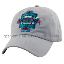 Lavado de algodón de sarga de bordado de golf de golf de gorra de béisbol (TMB0911)