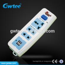 220v universal usb elétrica porta soquete conjunto FXD-357