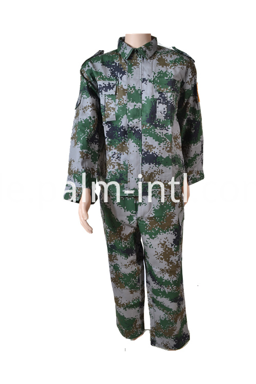 Camouflage Flame Retardant Suit