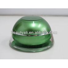 0.5oz 1oz 1.5oz Plastic Jar Mini Plastic Jars Acrylic Cream Cosmetic Jars