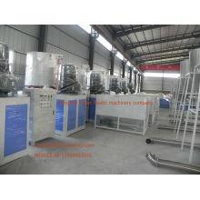 mezclador plástico de la materia prima