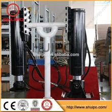 La jambe d'atterrissage hydraulique de poignée intérieure de boîte de vitesse de soudure / équipement hydraulique a atterri par shuipo / jambe hydraulique d'atterrissage pour la remorque