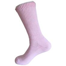 Medio almohadilla Sorbtek Coolmax Diabéticos Cuidado de la Salud Médica rosa calcetines (JMDB04)