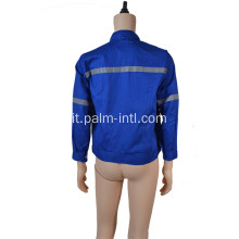 100% cotone Royal Blue Jacket