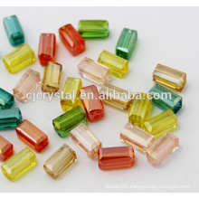 crystal jewelry rectangle beads glass beads manufacturers