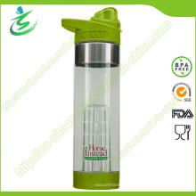 Botella de alta calidad de infusión de fruta Tritan de 24 onzas con logotipo personalizado