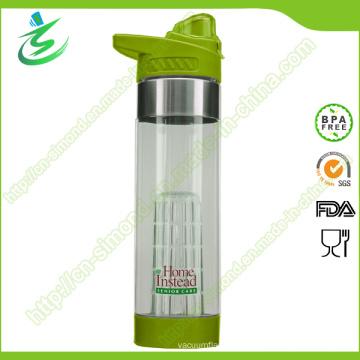 Bouteille d'infusion de fruits Tritan de haute qualité 24 Oz avec logo personnalisé
