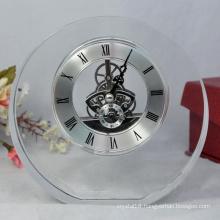 Popular Hot Selling Desk Crystal Clock for Promotion Gift