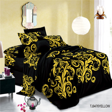 Skin-friendly Cotton Voile Print Polyester Bed Sets Sheets