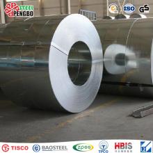 Bobina de acero galvanizada sumergida caliente de la capa del cinc