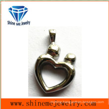 Stainless Steel Jewelry Polished Charms Pendants