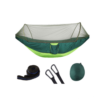 Mosquito Net Pop-up Light Portable Outdoor Parachute Camping Hammock
