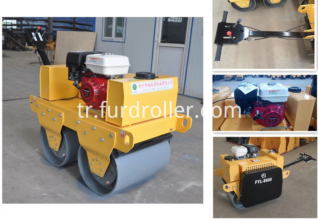 FYL-S600 vibratory road rollers