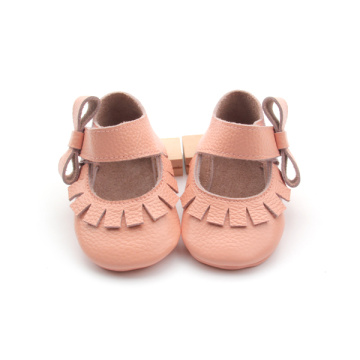 Kanak-kanak Cantik Girl Dress Soft Sole Leather Shoes