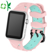 Ganda Warna Valentine Watch Strap Silicone Iwatch Bands