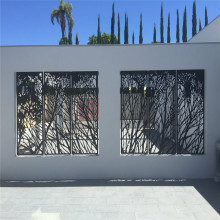 Laser Cutting Decorative Privacy Metal Screens