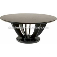 Vintage style restaurant round table XYN38