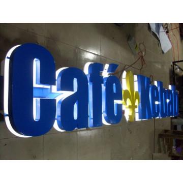 Signe de lettre du signe 3D de la lettre LED de la Manche acrylique d'acier inoxydable de la pop 304