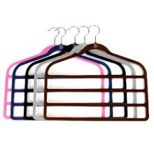 Plastic Velvet Pants Hanger