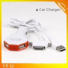 Mutil-interfaz cargador USB / cargador de batería de teléfono USB masculino utilizado en el coche WF-116