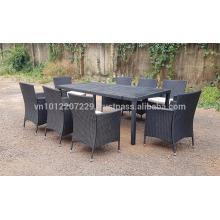 Muebles de jardín / Muebles de jardín de mimbre de poliéster de PE - Juego de cubos