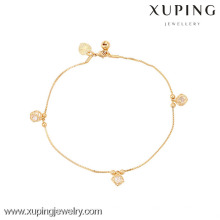 73924-Xuping Jewelry Fashion Hot Sale Generous pulsera de mujer con 18 k chapado en oro