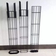 Industrial custom steel filter bag filter cage