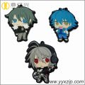Moda japonesa Anime Cute Silicon Soft Keychain